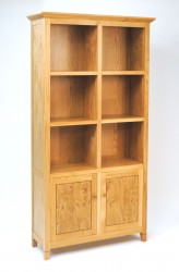 BOW510 Bookcase - Angled view