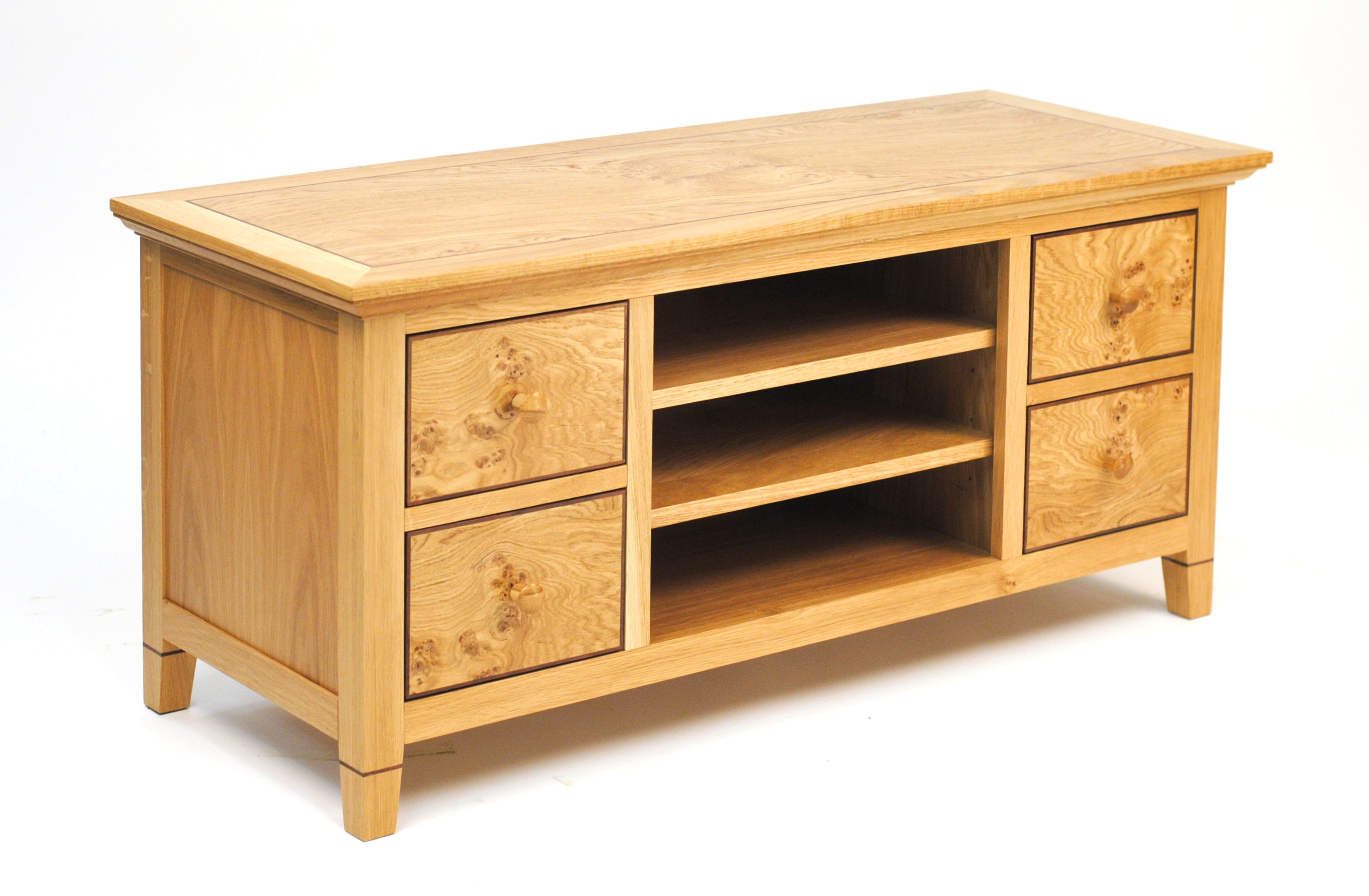 dvd drawers furniture ebay itm storage chest solid cd walnut cabinet home linea