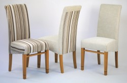 Choose from three upholstery styles and from six different colours.