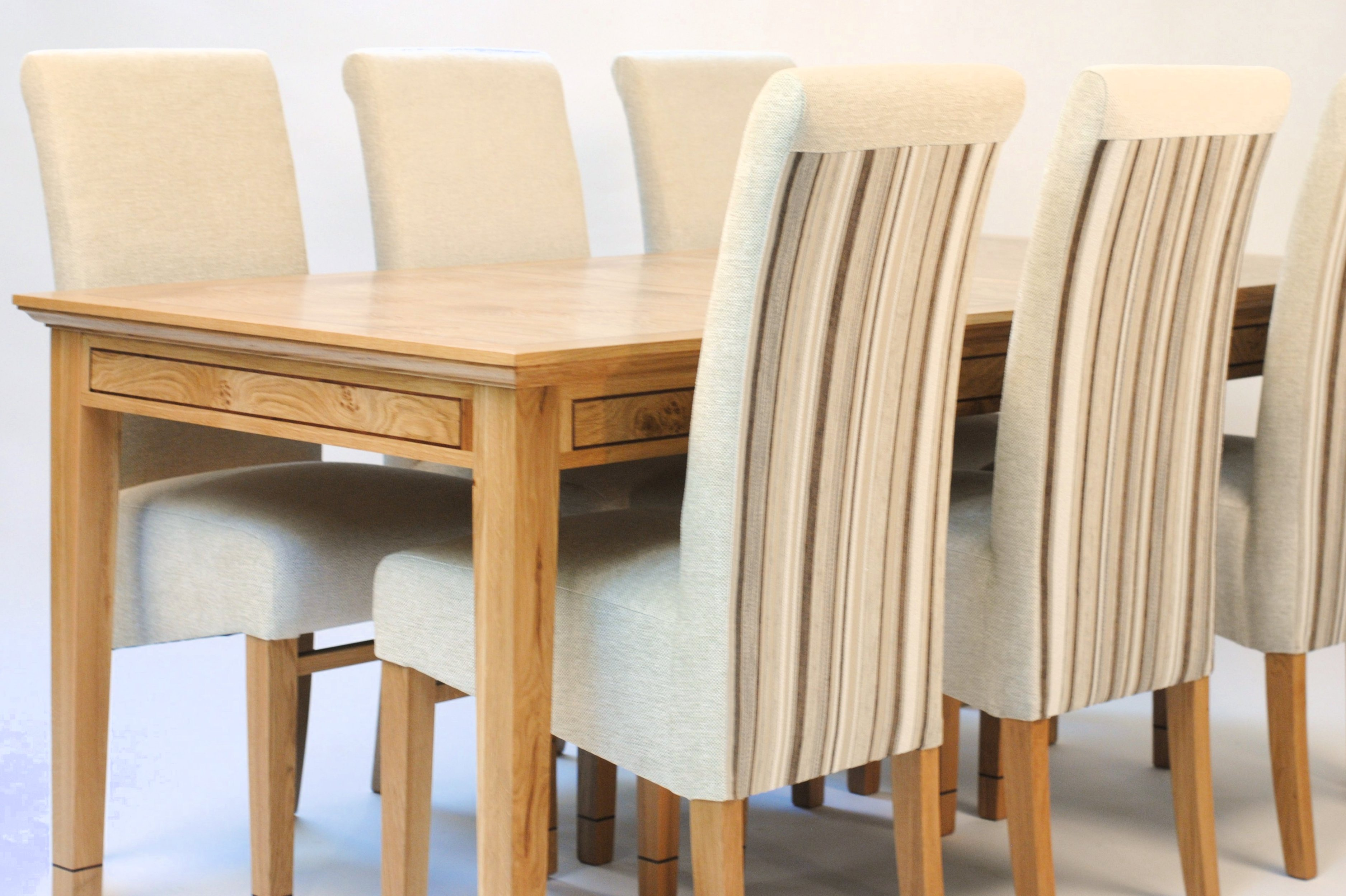 Oak Extending Dining Table Amp 6 Chairs